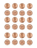 Kindergarten Math Money Counting Page of Pennies Penny Fro