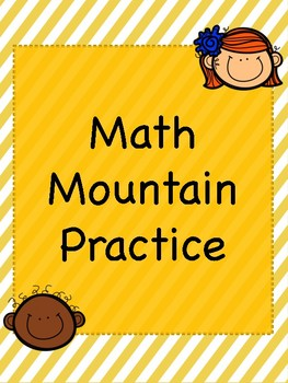 Kindergarten Math Mountains
