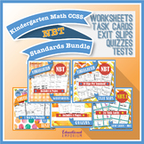 Kindergarten Math NBT Curriculum MEGA Bundle: Kindergarten Numbers in Base Ten