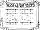 Kindergarten Math Number Line Activities ~ Spring Bunny