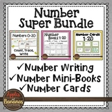 Kindergarten Math Number Megabundle for Numbers 0-20