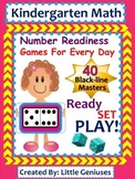 Kindergarten Math: Number Readiness Games