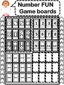 Kindergarten Math: Number Readiness Games