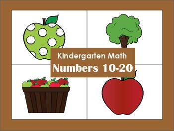 Kindergarten Math: Number Sense 10-20