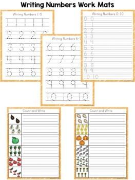 Kindergarten Math ~ Numbers 0-10
