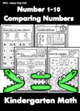 Kindergarten Math : Numbers 1-10 Comparing Numbers Distance Learning