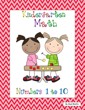 Kindergarten Math - Numbers 1 to 10 - Back to School Theme