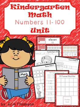 Kindergarten Math ~ Numbers 11-100