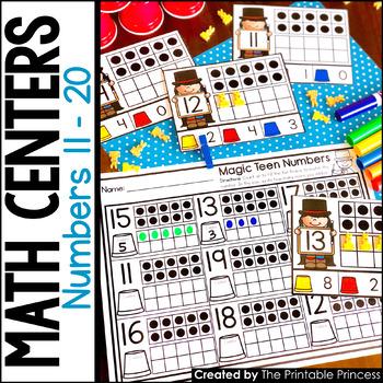 photograph regarding Printable Math Centers identified as Kindergarten Math Facilities: Figures 11 - 20