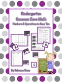 Kindergarten Math {Numbers & Operations in Base Ten}