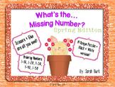 Kindergarten Math: Number Order {Spring}