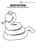 Kindergarten Math - Patterns - Shape Patterns
