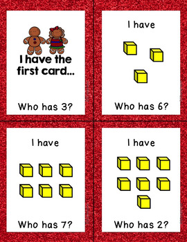 Gingerbread Man Math -- [Place Value]