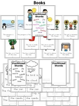 Kindergarten Math ~ Positional Words