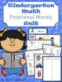 Kindergarten Math ~ Positional Words