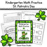 Kindergarten Math Practice - St. Patrick's Day