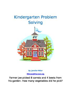 Kindergarten Math Problem Solving