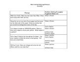 Kindergarten Math Prompts