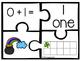 Kindergarten Math Puzzle Pieces Numbers 1-20 - St. Patrick