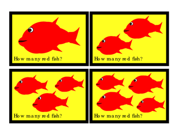Kindergarten Math RED Fish How Many Addition Numbers To 10