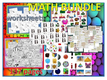 Kindergarten Math/RTI Bundle (137 pages)