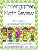 Kindergarten Math Review