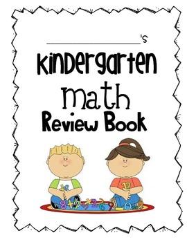 Kindergarten Math Review Book: Texas Edition