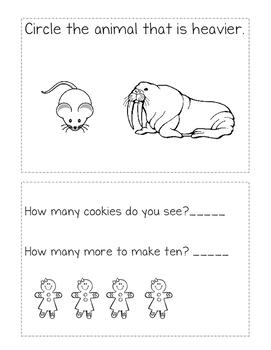 Kindergarten Math Review: Problem Solving