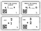 Kindergarten Math Review Task Cards with QR Codes