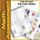 Kindergarten Math Screener Quickly Assess with No Prep for Spec Ed and Gen Ed
