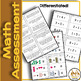 Math Screener Quick Assessment with No Prep for Spec Ed and K, 1st, 2nd
