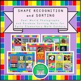 Montessori Math - Shape Recognition - Real World Photograp