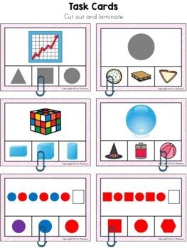 Kindergarten Math ~ Shapes and Patterns