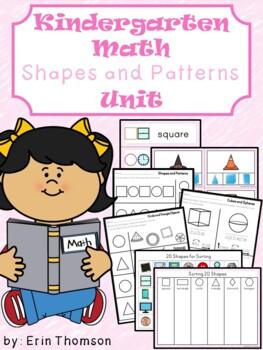Kindergarten Math ~ Shapes and Patterns