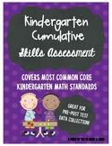 Kindergarten Math Skills Assessment