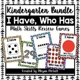 Kindergarten Math Skills-I Have, Who Has Bundle