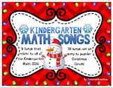 Kindergarten Math Song Lyrics Sung to Christmas Carols (Common Core Aligned)