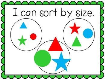 kindergarten math sorting mats by yeehaw teaching in texas tpt. Black Bedroom Furniture Sets. Home Design Ideas