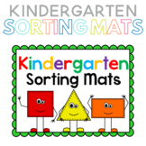 Kindergarten Math Sorting Mats