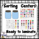 Kindergarten Math Sorting : by color, by size, by shape, button sorting