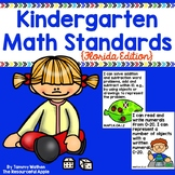 Kindergarten Math Standards {Florida Edition}