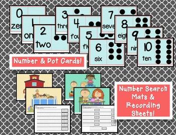 Kindergarten Math Stations Starter Pack!