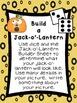 Kindergarten Math Stations for October with Bonus October Calendar Pieces