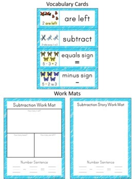 Kindergarten Math ~ Subtraction from 10
