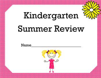 Kindergarten Math Summer Review