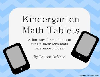 Kindergarten Math Tablets