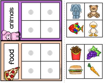 Kindergarten Math Task Boxes - FREE SAMPLE