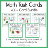 Kindergarten Math Task Cards Bundle