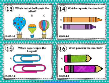 Kindergarten Math Task Cards MEGA Bundle {Common-Core Aligned Math Centers}