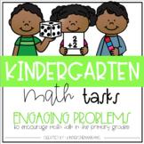 Kindergarten Math Tasks